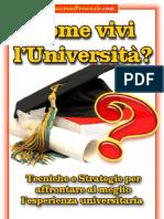 Come vivi l'università - SuccessoPersonale.com