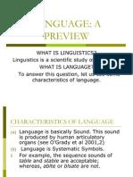 Linguistics Review