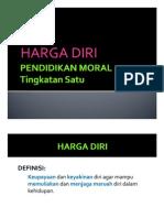 Pendidikan Moral Tingkatan 1 - HARGA DIRI