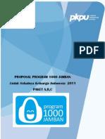 Bundel Proposal 1000 Jamban_26 Januari