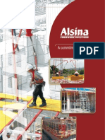 Alsina Safety Brochure English