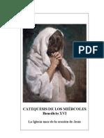 18.  La Iglesia nace de la oración de Jesús - Benedicto-XVI