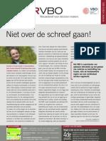 Niet over de schreef gaan!, Infor VBO 3, 26 januari 2012