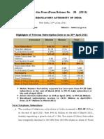 Press Release 15 April-11