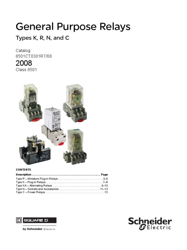 Relays Class 8501 8 Pin Wiring Diagram Libraries Snyder Rotary Phase Converter 8501ct0301r708 Switch Relayrelays 14