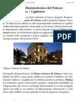 Nuovo Progetto Illuminotecnico Del Palazzo Farnese Ad Ortona | Light Store