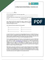 Partnership Consent Letter CIB1