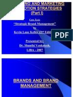 Brand Management I