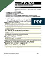 Comandos e Funções PHP e MySQL
