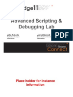 19L04-Roberts-Advanced Scripting and Debugging