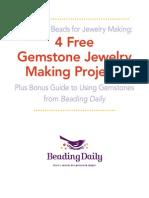 4 Free Gemstone Jewelry Making Projects
