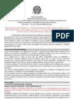 Consul Plan Edital Abertura Inscricoes Concurso TSE 2011 Retificado 191217067