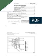 Forklift Owner's Manual