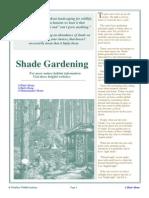 Shade Gardening