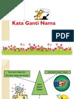 Kata Ganti Nama Diri Powerpointb 111203221852 Phpapp01
