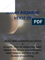 SURAH BAQARAH AYAT 29