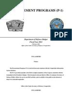Fy 2012_procurement Programs