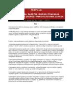 Pravilnik o Izdavanju Sertifikata o Energetskim Svojstvima Zgrada