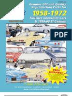 1958 - 1972 Chevrolet Car and 1959 - 60 El Camino