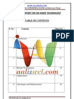 Seminar Report on Sixsense Technology_2