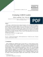 Evaluating GARCH Models