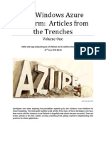 Windows Azure Platform Articles From the Trenches