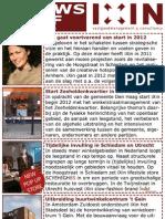Nieuwsbrief 4 Januari 2012