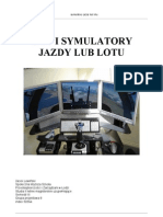 Labolatorium 6 Gry i Symulatory Jazdy Lub Lotu