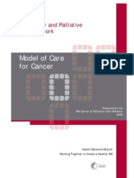 Cancer Model of Care