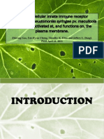 Plant intracellular innate receptor RPM1 is activated at, and function on, the plasma membrane