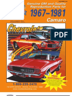 1967 - 1981 Camaro