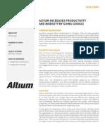 Altium Case Study