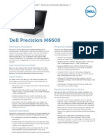 Dell Precision M6600 Brochure Brosur