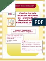 Programa II Seminario Educación CERMI Madrid 8-02-2012