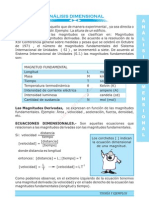 Analisis Dimensional Si Sello