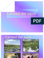 Tema 1. Calidad Del Agua, Julio 2011