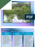 Analisis de parámetros, calidad ambiental