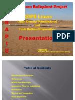 HDPE Liner Technical Presentation