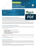 Etude de Cas Carlsberg - Comarch on-Line Distribution