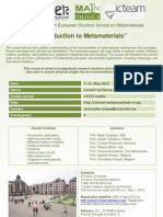 20th Phd School Flyer