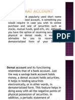 Demat Account Ppt