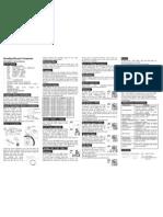 Manual Odometro