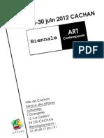 Dossier d'inscription Biennale
