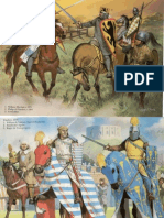Medieval Knights at Tournament