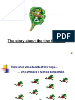 Inspirational Story of Tiny Frogby Smriti
