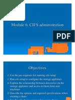 Module 6 CIFS Admin