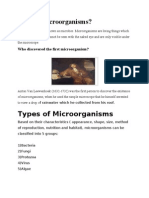What is Microorganisms