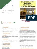 Díptic taller català