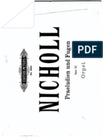 Nicholl, Horace Wadham Book I