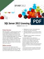SQL2012 Licensing Datasheet USA Dec2011